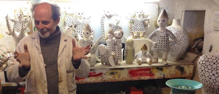 Sculptor Stefano Innocenti Pinocchio Sculptures Fiesole Italy Tuscany Nest Boutique McKinney Avenue Dallas Patron Magazine