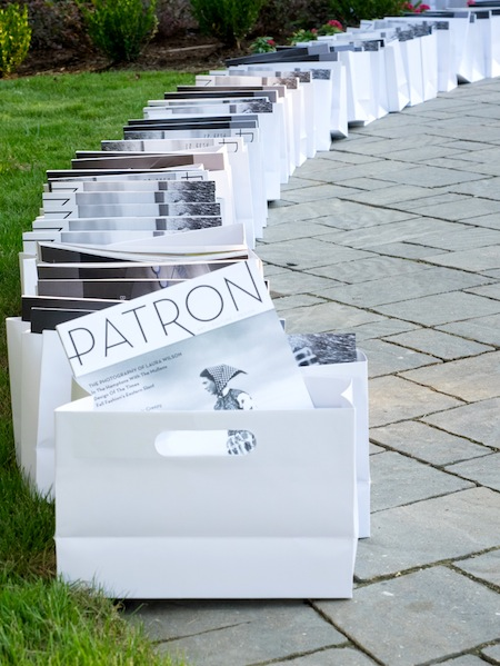 Binzario Visions of White Art and Fashion Unveiling Patron Magazine