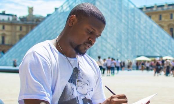Venny Etienne FGI Paris American Scholarship Louvre
