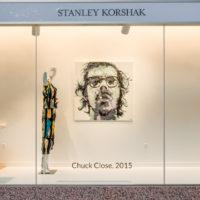WINDOW DRESSING: ARTIST CHARLIE HANAVICH'S PORTRAITS ENHANCE SPRING STYLES AT STANLEY KORSHAK