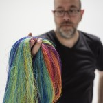 CREATED THROUGH 60 MILES OF THREAD, GABRIEL DAWE'S INSTALLATION WILL CREATE A SPECTRUM OF LIGHT INSIDE THE AMON CARTER MUSEUM OF AMERICAN ART