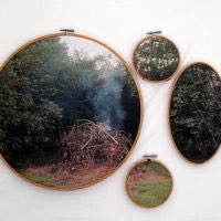 EVERYONE TALKS AT ONCE: Letitia Huckaby at Liliana Bloch Gallery